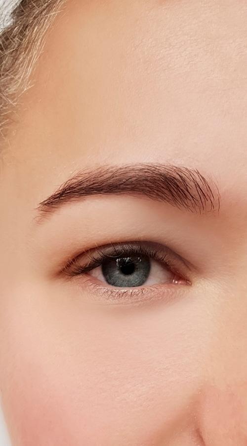 Después de presoterapia ocular